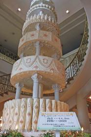 巨大ウエディングケーキ