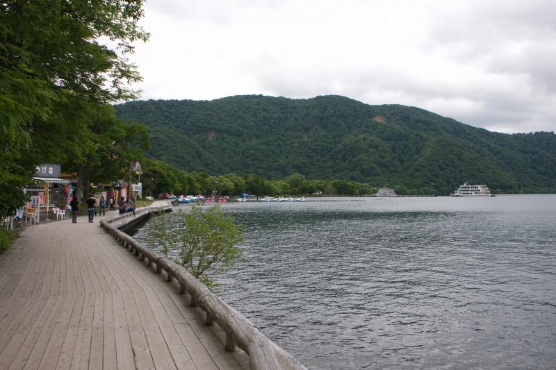 十和田湖の周り