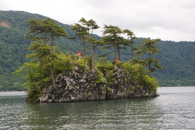 小さな島「兜島」