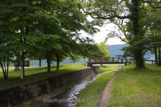 秋田県と青森県の県境