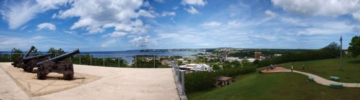 アプガン砦からの風景