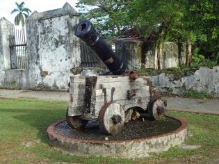 大砲のレプリカ