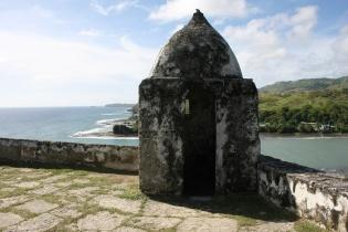 古びた監視塔