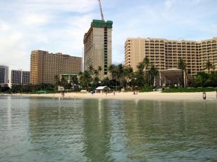 建設中ホテル