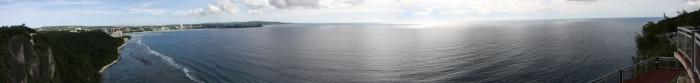 恋人岬からのパノラマ写真