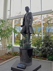 土方歳三の立像