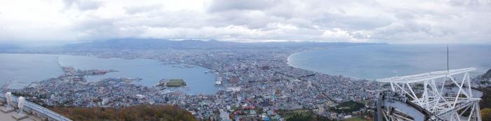 函館山からのパノラマ景色