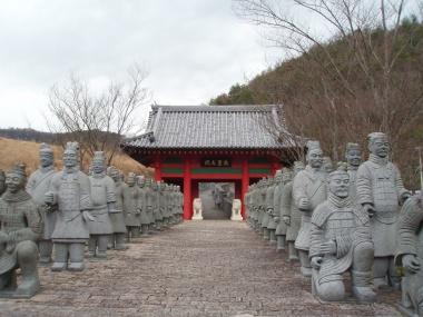 万里の長城入り口