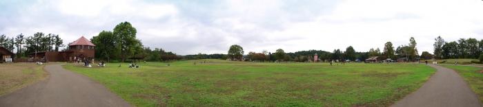 小岩井農場まきば園 広場の一部