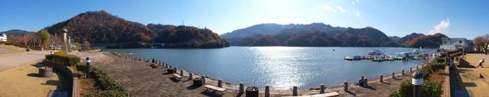 相模湖公園のパノラマ写真