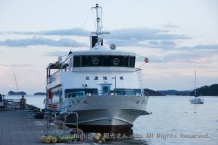 松島湾を一周する遊覧船