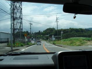 国道207号線の風景