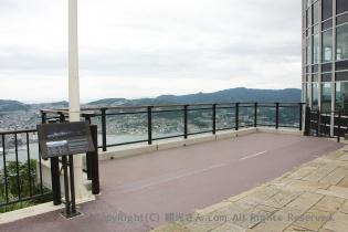 ビュータワー横の展望スペース
