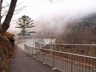 濃霧\(^o^)/
