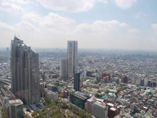都庁からの眺め