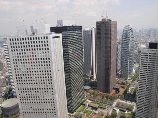 都庁からの眺め2