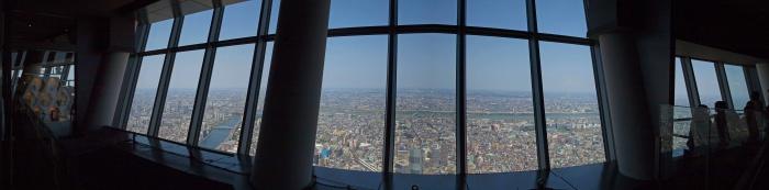 東京スカイツリー 天望デッキからの景色2