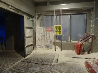山頂駅の出入り口